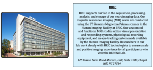 An image of BRIC in Chapel Hill, a modern, rectangular building with glass windows.